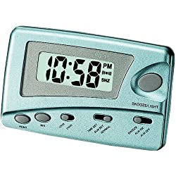 Casio Digital Traveler's Alarm Clock Snooze LED #PQ-11D-2RDF