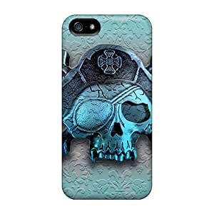 5/5s Scratch-proof Protection Case Cover For Iphone/ Hot Pirates Phone Case
