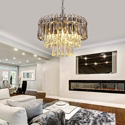 Q S Crystal Chandelier Lighting