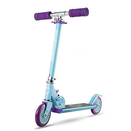 Patinete Scooter para niños plegable azul con altura de ...