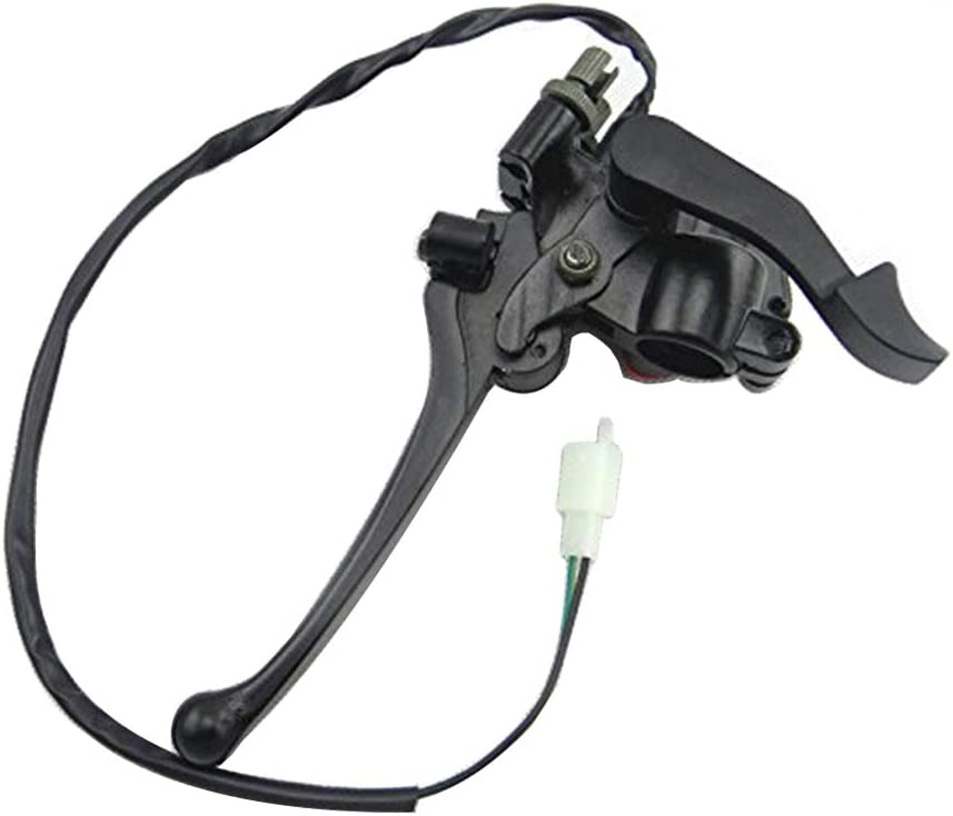 125cc ATV Quad Amhousejoy Thumb Throttle Accelerator Brake Lever with Cable for Chinese 50cc