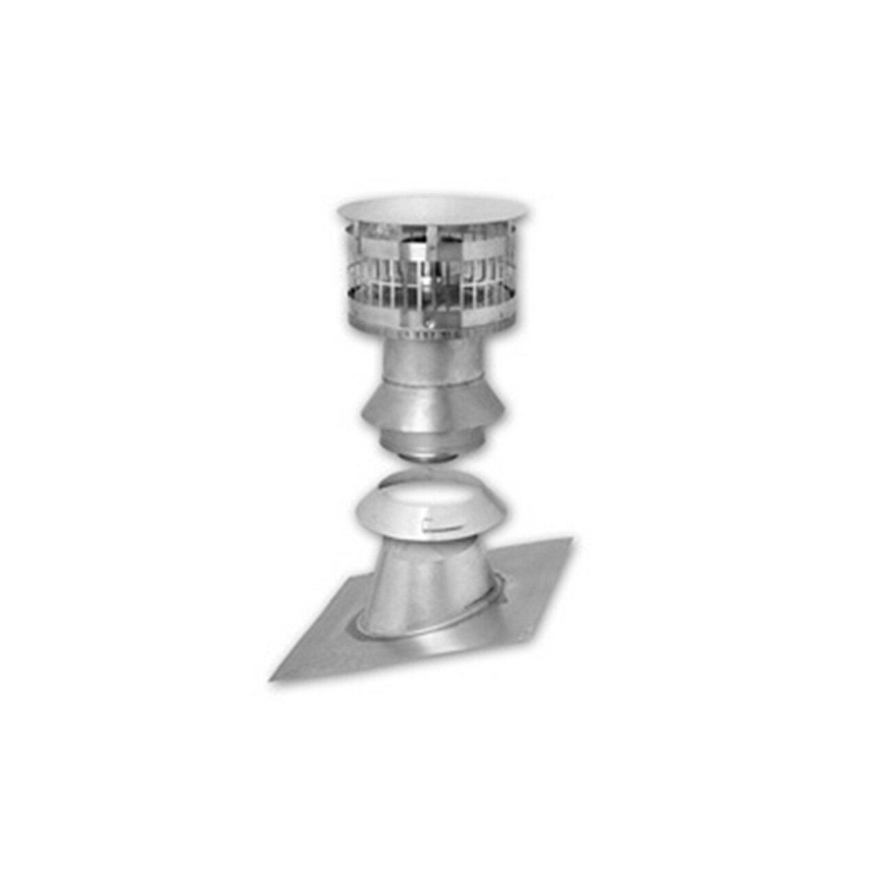 Rheem RTG20211 3-Inch Vertical Termination Kit for RTG-95DV