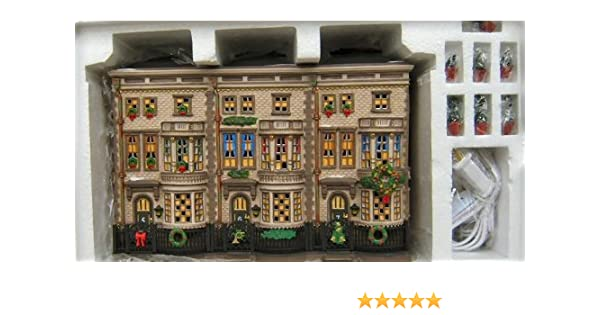 Department 56 Dickens Christmas Village Mulberrie Court #58345 NEW
