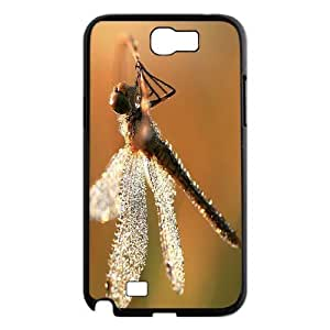 Beautiful Dragonfly New Fashion DIY Phone Case for Samsung Galaxy Note 2 N7100,customized cover case ygtg-309183