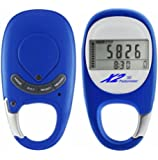 Best Digital Pedometer for Walking, Easy Step & Calorie Counter, Get Fit, Healthy & Burn Calories Fast With This Wireless Personal Activity & Fitness Tracker By X2 Innovations, Free 10000 Step eBook