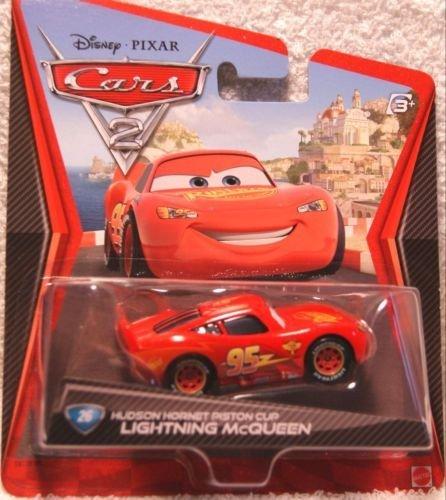 Mcqueen Piston Cup - Disney / PIXAR Cars 2 #26 Hudson Hornet Piston Cup LIGHTNING McQUEEN 1:55 Scale Mattel