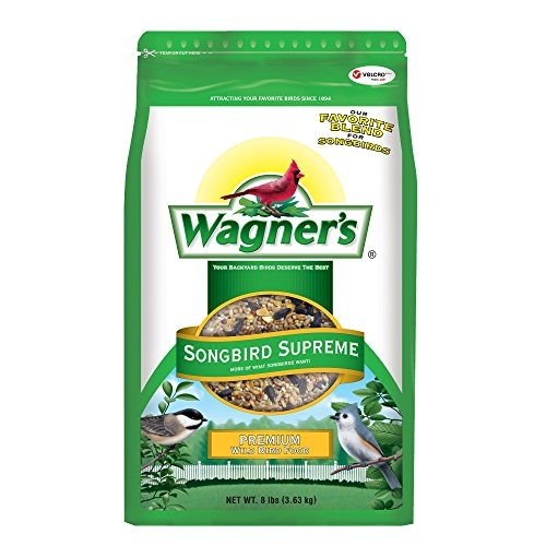 Wagner's 62042 Songbird Supreme Blend, 8-Pound Bag