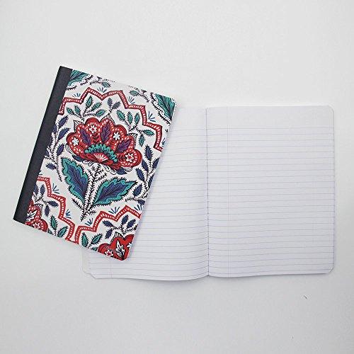 Comix C9000 Composition Book 100 Sheets 9.75 x 7.5 (Flower)