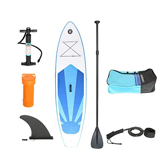 Adulto Unisex Inflable Stand Up Paddle Board Kit con Bomba ...