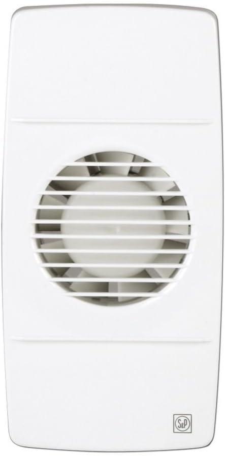 Soler & Palau; EDM-80L (más opciones clic: aquí); extractor baño doméstico para reja de ventilación, modelo básico. diam: 90mm.