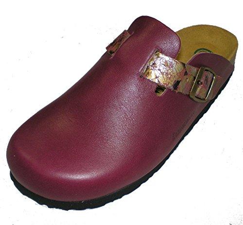 Dr donna Clogs mules amp; Brinkmann 600418 Rosso 5 pantofole tIqwtr7