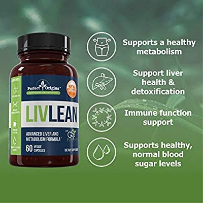 Perfect Origins LivLean, Liver Cleanse Health and Detox Support Supplement