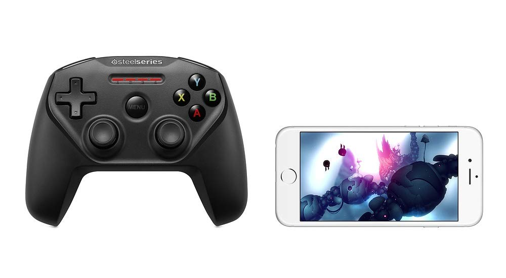 SteelSeries Nimbus Bluetooth Mobile Gaming Controller - IPhone, iPad, Apple TV - 40+ Hour Battery Life - Mfi Certified - Supports Fortnite Mobile by SteelSeries (Image #7)