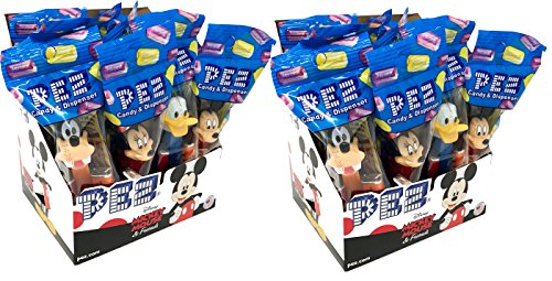 Mickey Mouse & Friends Pez Candy Dispensers Party Favors Pack of