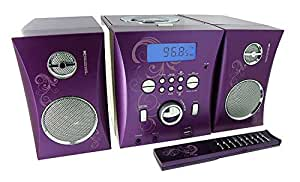 BigBen MCD06 - Music Center MP3, USB, diseño arabesque