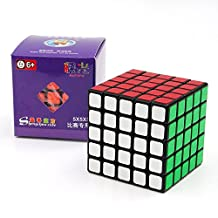 Kingcube ShengShou Aurora 5x5 Black Jiguang SS Magic cube 5X5X5 Speed cube