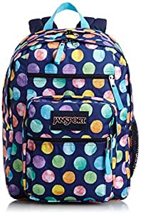 JanSport Big Student (MULTI WATERCOLOR SPOTS)