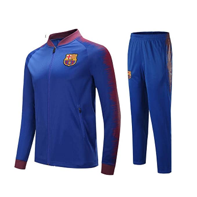 Barcelona Club Camiseta de Manga Larga, Fútbol, Traje, Equipo ...