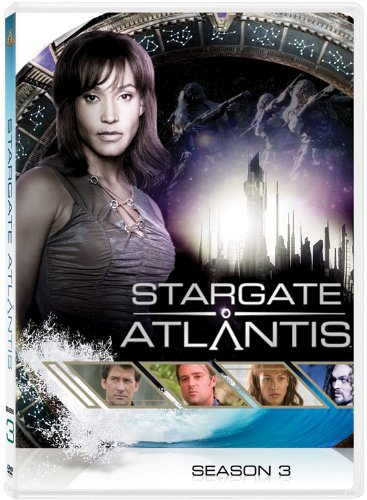 DVD : Stargate Atlantis: Season 3 (, Dubbed, Dolby, AC-3, Repackaged)