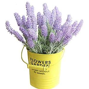 COLOV Wedding Lavender Bouquet Artificial Flower Fashion Decoration Wedding(Purple 12.99) 40