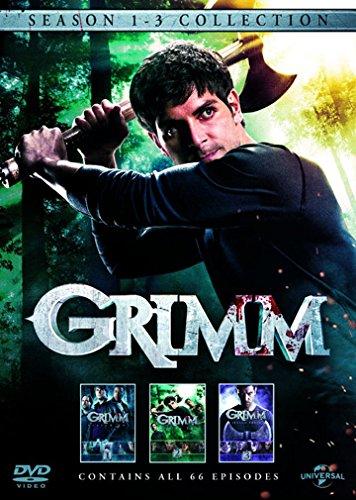 Grimm (Season 1-3 Collection) - 18-DVD Box Set ( Grimm (66 Episodes) ) [ NON-USA FORMAT, PAL, Reg.2.4 (Grimm Season 1 Episode 2)