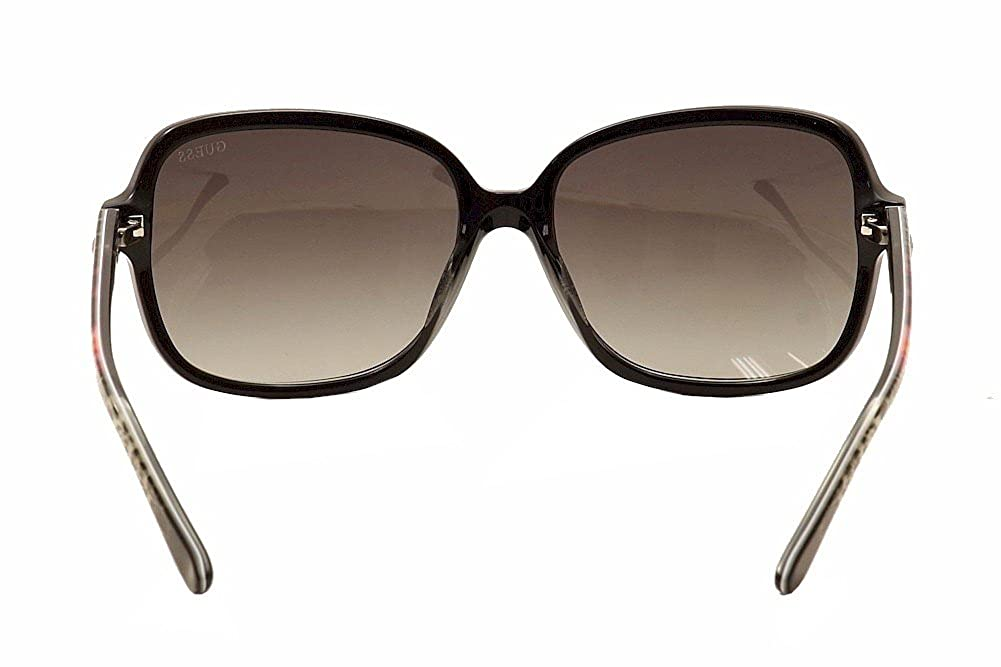 Schwarz 60 Noir GUEX5 Sonnenbrille GU7382 6001B Montures de lunettes Femme