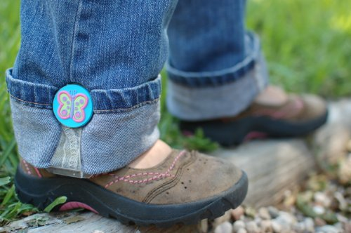 My Hikes--Adjust kids pant legs! (Butterfly)