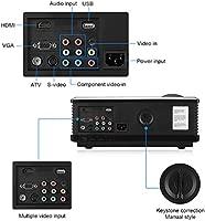 Excelvan PH580 - HD Proyector LED 1280x800 (5.8