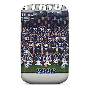 Quality Blowey Case Cover With New England Patriots Nice Appearance Compatible With Galaxy S3 wangjiang maoyi