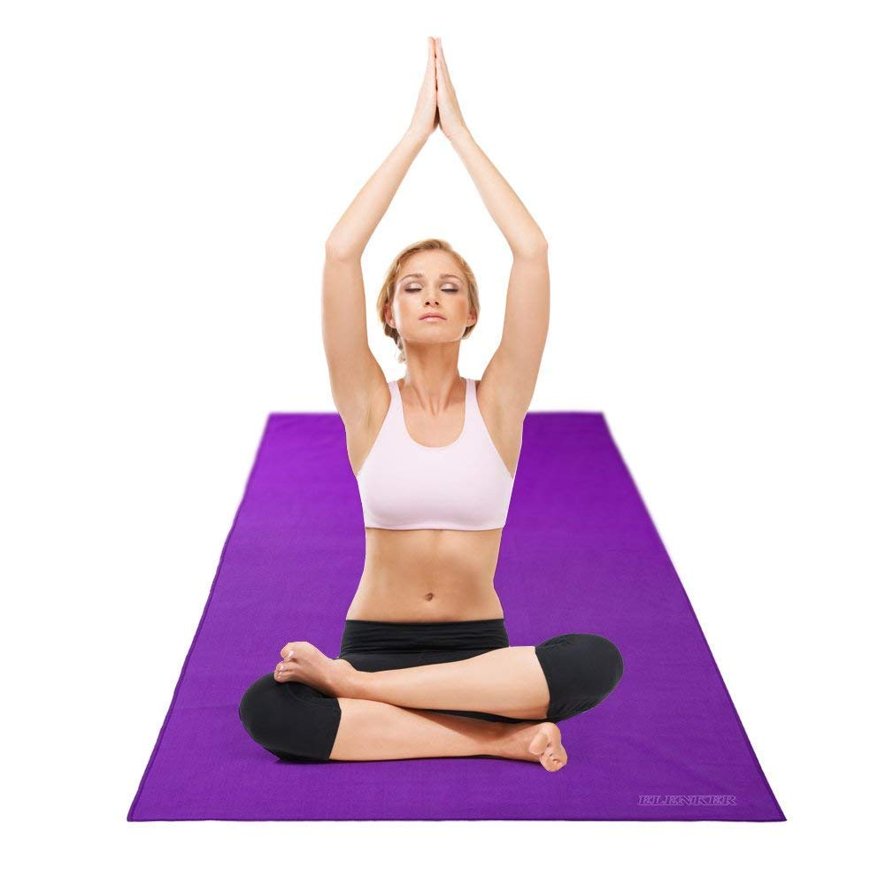 Amazon.com: ELENKER Yoga Mat Toalla (24