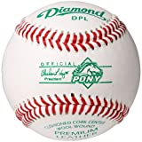 Diamond Dpl Pony League Leather Baseballs 12 Ball Pack