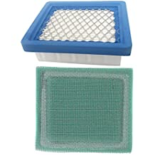 Hilom Air Filter Pre Filter for 4 & 5.5 Hp Engines Replace Tecumseh 36046 36634 740061 Oh95 Oh195 Ohh50 Ohh55 Ohh60 Ohh65 Vlv50 Vlv55 Vlv60 Vlv66 Vlv126 Replace Stens 100-450