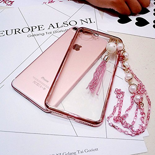 iPhone CaserBay Rhinestone Pearly Necklace