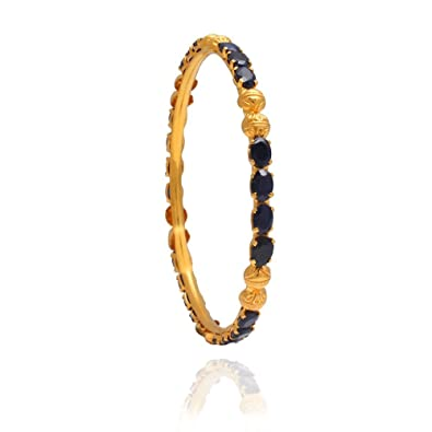 sapphire precious details two set bangles stone of gold