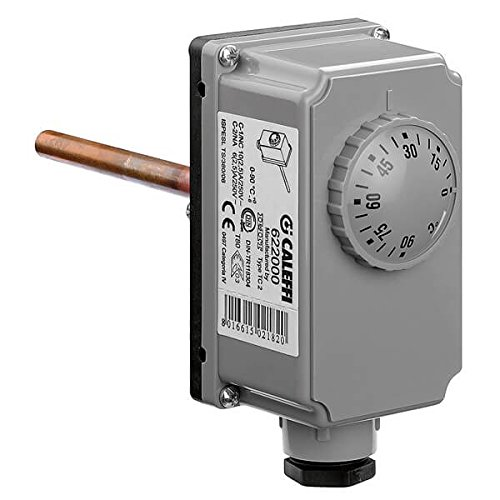 ajustable Caleffi 622000/Termostato de inmersi/ón