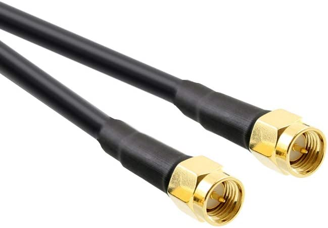JARFT J800 LTE Antenne inkl Leistungsstarke 4G Au/ßenantenne passend f/ür Diverse LTE Router 14dBi 800MHz 15m Twin Antennenkabel