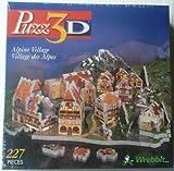 Puzz-3D Alpine Village; 227 Piece 3D Jigsaw Puzzle (P3D-6504) by puzz 3d