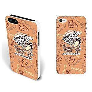 Case For Htc One M9 Cover - Cute Lovely Hard Back Phone Case with Quotes Animal Shape Pattern Print Monogram Iphone Cover Skin (By262: Pirate Mouse)