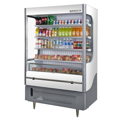 Beverage Air VM18-1-W Vuemax Series Open-Air Merchandiser 51
