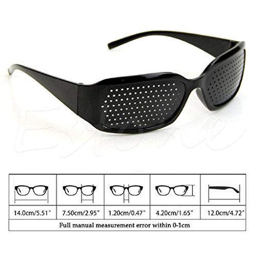 Yumian Eyesight Care Stenopeic Glasses Vision Anti-fatigue Improver Pin Pinhole Glasses