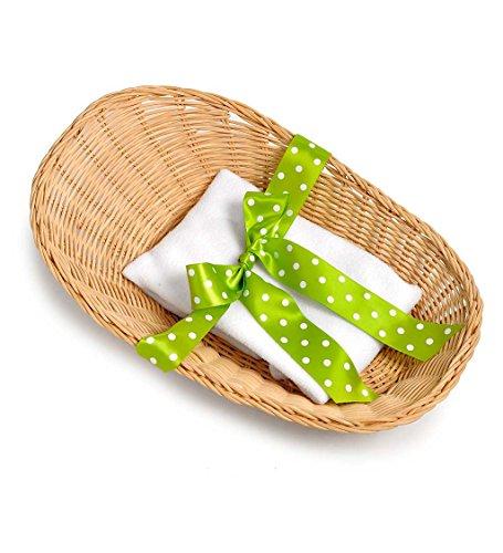 Rubens Barn Dolls Baby Basket and Blanket Set (Barn Baskets)