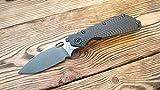 SMF. Custom scales for STRIDER SMF. Model- CC. Carbonfiber. (Knife not included)