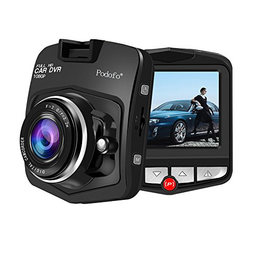 Hd 1080p Night Vision (Podofo Mini GT300 A8 Car Dvr Camera Dvrs Full HD 1080p Recorder Video Registrator Night Vision Box Carcam Dash Cam (Black))