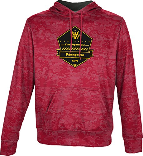 Price comparison product image Boys' Rancho Adobe Fire Protection District Fire Department Digital Pullover Hoodie