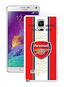 Beautiful Designed Case With Arsenal 1 White For Samsung Galaxy Note 4 N910A N910T N910P N910V N910R4 Phone Case