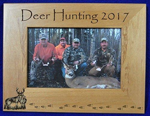 Deer Hunting Picture Frame Deer Hunting Engraving
