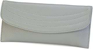 product image for Genuine Italian Leather Women's Skinny Wallet and Credit Card Holder