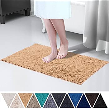 Amazon Com Clara Clark Bath Mat Bathroom Rug Absorbent