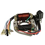 50cc 110cc 125cc 2 coil atv quad stator ignition coil magneto