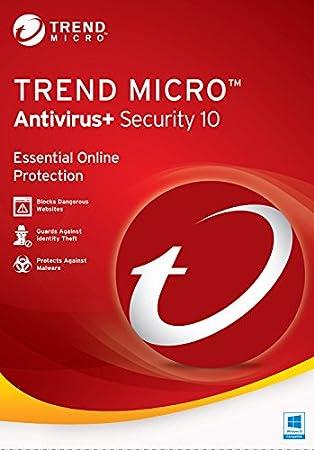 Trend Micro Antivirus+ 10 2017 1 YR 3PCS